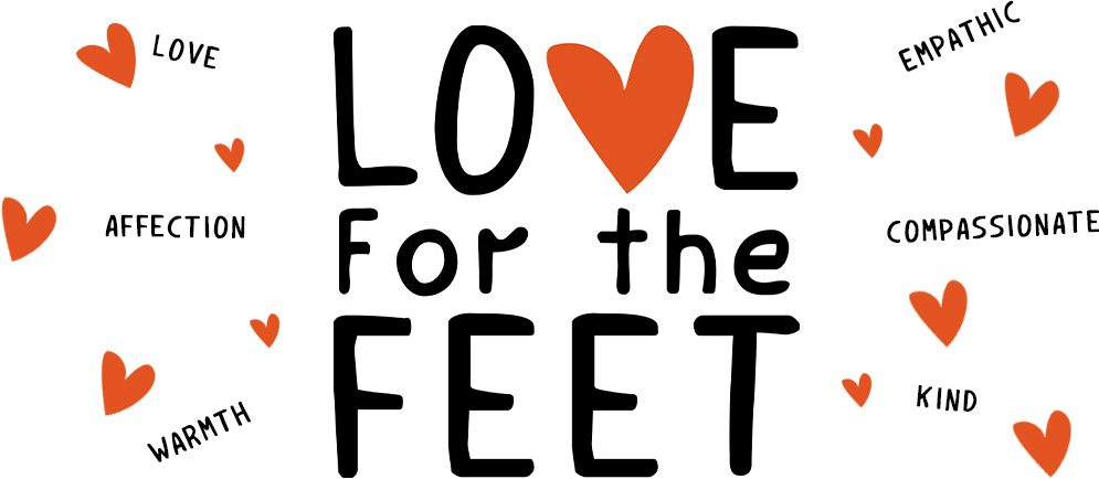 Love for the Feet